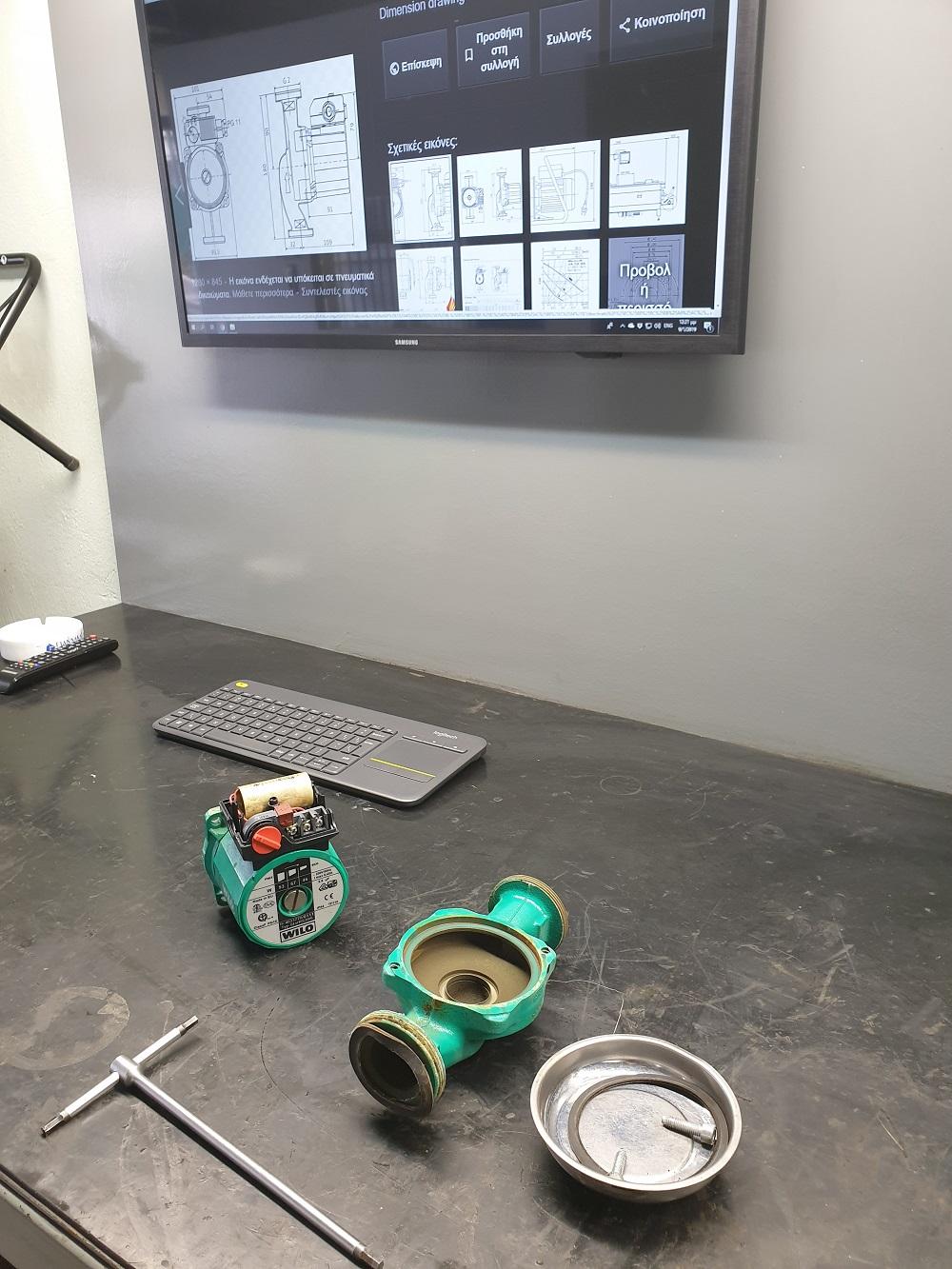 motorservice επισκευή αντλίας αντλιών κυκλοφορητή πιεστικού service λυμάτων Αθήνα wilo grundfos dab lowara abs sulzer pentax kraft